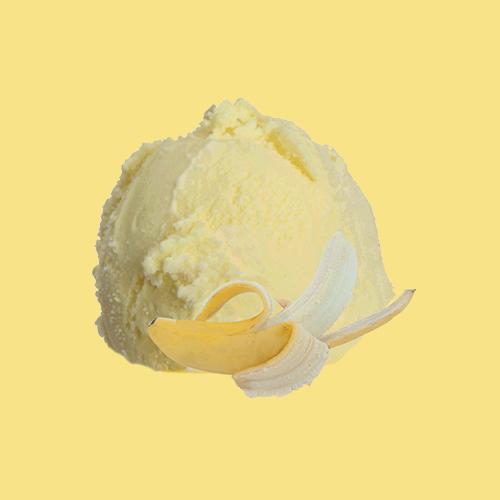 banana dairy ice cream
