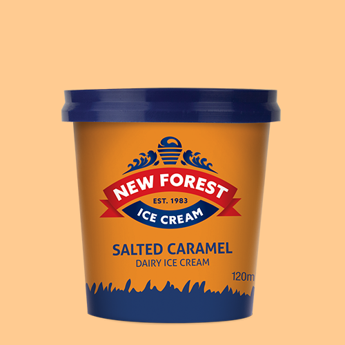 120ml salted caramel tubs