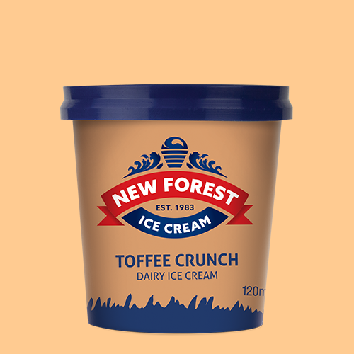 120ml toffee tub