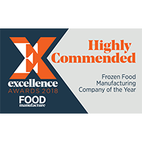 highly commended frozen food company